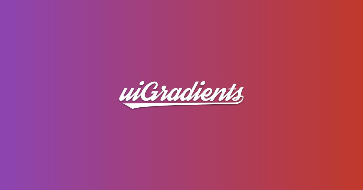 uiGradients   グラデーションを使うならこれ